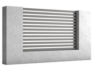 ogrodzenia aluminiowe-AIR
