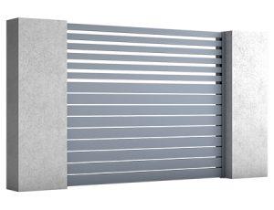 ogrodzenia aluminiowe BREEZE