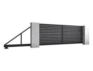 bramy aluminiowe przesuwne CORE