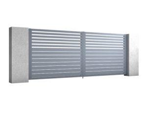Aluminiowa Brama Skrzydłowa BREEZE