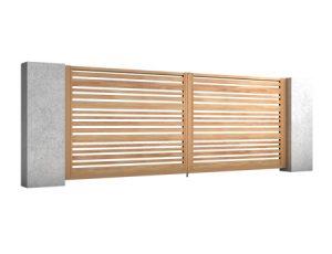 Aluminiowe Bramy Skrzydłowe Impressive